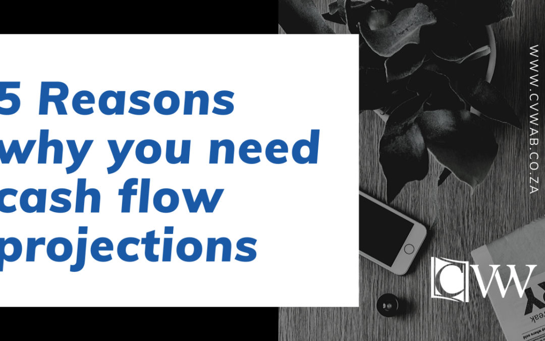 5 Reasons why you need cash flow projections