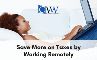 Save More on Taxes by Working Remotely…
